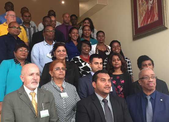 Participants from fourteen Caribbean countries discussed ways to improve plant health and limit the risk of pests and diseases at the regional workshop. © Inter-American Institute for Cooperation on Agriculture