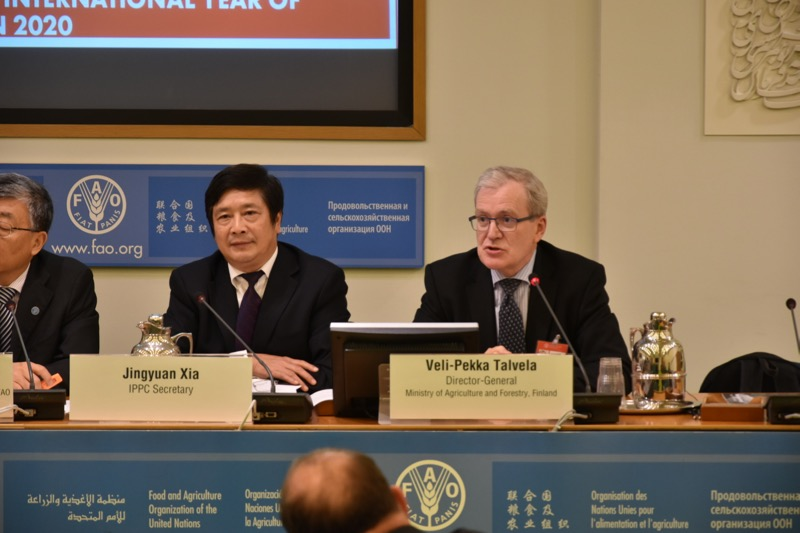 Secretary Xia, IPPC and DG, Ministry of Agriculture and Forestry, Finland